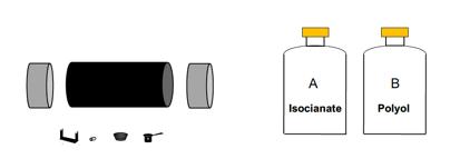 Tube acier accessoires pré-isolés  gamme complète  kits de jonction